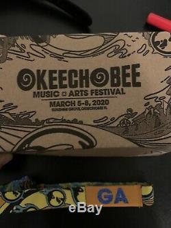Okeechobee Music festival 4 day GA Wristband