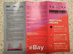 Outside Lands Music Festival 3 day GA Passes (2)