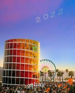 PREFERRED CAR CAMPING Pass Coachella Weekend 2 Music Festival 2022 Ticket