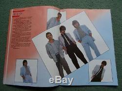 Rare Birmingham Heart Beat 86 Festival Programme ELO etc PLUS 2 Ticket Stubs