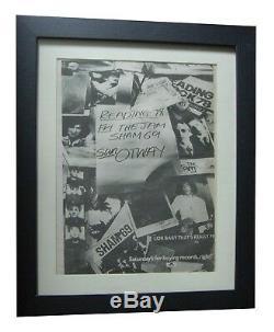 Reading Festival+1978+rock+poster+ad+framed+original+express+global+ship+tickets