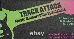 Reading Festival+rock+original 1998+poster+ad+framed+express+global+ship+tickets