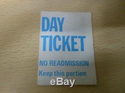 Reading Rock Festival 1981 Programme + Day Ticket