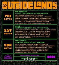 SATURDAY VIP Outside Lands Music Festival Wristbands 2021 Ticket Passes
