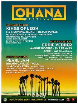 SUNDAY GA Tickets Ohana Music Festival 2021 Wristband