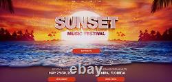 Sunset Music Festival Tickets