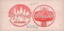 T. Rex 1972 The Slider Tour Schaefer Music Festival Unused Concert Ticket / Ex