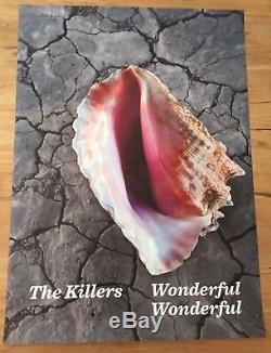 THE KILLERS PROMO POSTER for DELUXE LP / WONDERFUL festival Ticket Tour 2019
