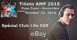 TIESTO Amsterdam Music Festival Saturday Tickets 21 October AMF Ziggodome