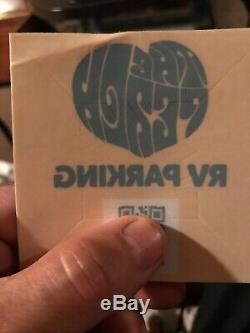 The Peach Music Festival RV pass and 2 (4 day) reserved seating tickets