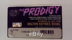 The Prodigy Keith Flint Warrior Dance Festival + Ticket