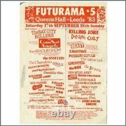 The Smiths Futurama Festival 1983 Handbill and Ticket (UK)