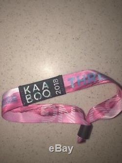 Tickets 2018 KAABOO Music Festival Delmar San Diego 3 Day Pass
