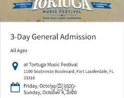 Tortuga Music Festival Passes 2020-Concert Tickets-Luke Bryan, Pitbull & More