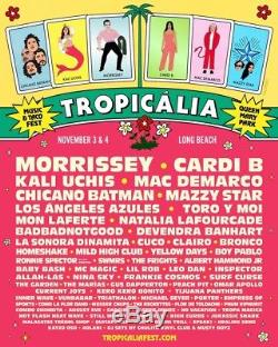 Tropicalia Music and Taco Festival Ticket