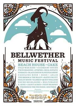 Two 2-Day Passes / Tickets to Bellwether Music Festival Friday & Saturday