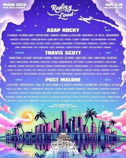 Two General Admission Rolling Loud Miami Tickets