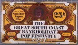 Tyrannosaurus Rex T-Rex Marc Bolan Ticket 1st Isle Of Wight Festival 1968