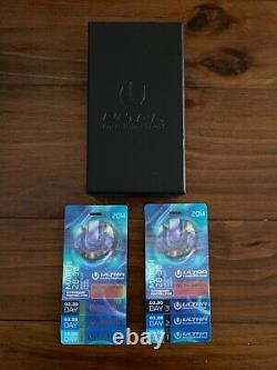 Ulra Music Festival 2014 GA 3 days tickets x 2 with box