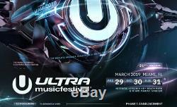 Ultra Music Festival GA Ticket 3-day pass