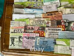 Used 1990's 2000 Gig Festival Tickets x 97 Collectable