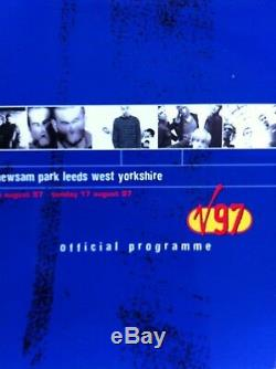 V97 Festival Original Official Programme + Two Tickets. Reef. Dodgy. Blur. Ash