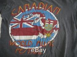Vintage Concert T Shirt & Ticket, Aerosmith & Ted Nugent Canadian Music Festival