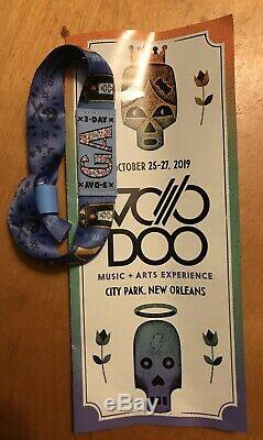 Voodoo Music & Arts Experience Festival 3-Day GA Wristband Tickets