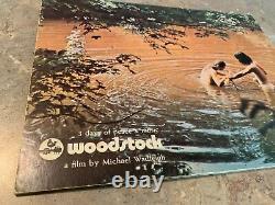 WOODSTOCK ORIGINAL MOVIE PROGRAM BOOK MUSIC FESTIVAL CONCERT Hippie No ticket