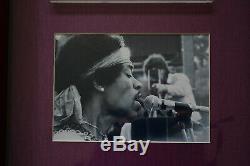 Woodstock 1969 Music Festival 50th Original Ticket PSA Rated GEM MINT 10 FRAMED