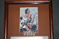 Woodstock Original Ticket 1969 Music Festival 50th PSA Rated NM-MT 8 FRAMED