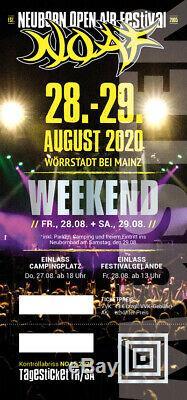 Wrap Open Air Festival Festival Ticket 2020 CD #131325